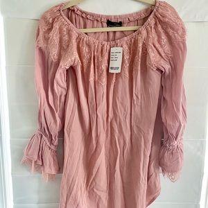 Suzanne Betro - Boho Style Long Sleeve Top